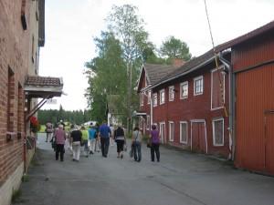 Jokipiin Pellavan pihassa_Pohjanmaan matka 2016 097